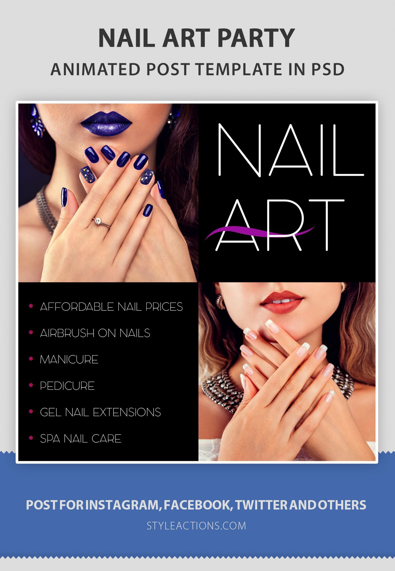 nailart-social-media-template