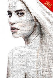 newspaper-art-photoshop-action