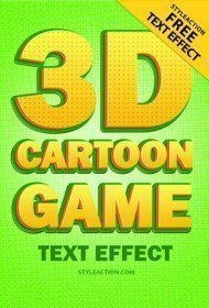 3d-cartoon-game-text-effect