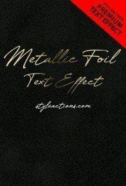 metallic-foil-text-effect