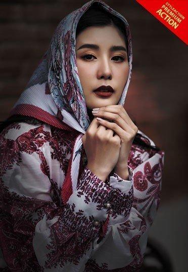 black-tones-portrait-photoshop-action