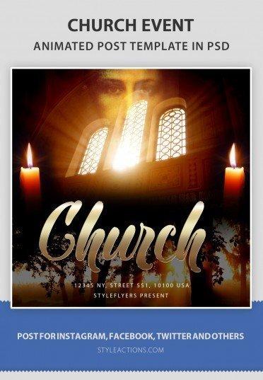 church-social-template