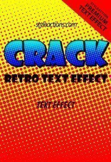 crack-retro-text-effect
