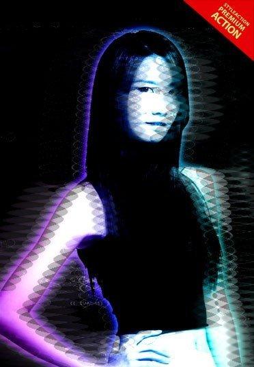 cyberpunk-hologram-photo-effect